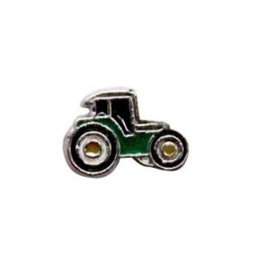 Tractor Floating Charm for Picture Lockets